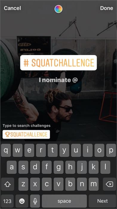 instagram挑戰貼紙