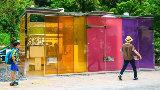 以社群觀點談日本透明廁所(スケルトンの公共トイレ)